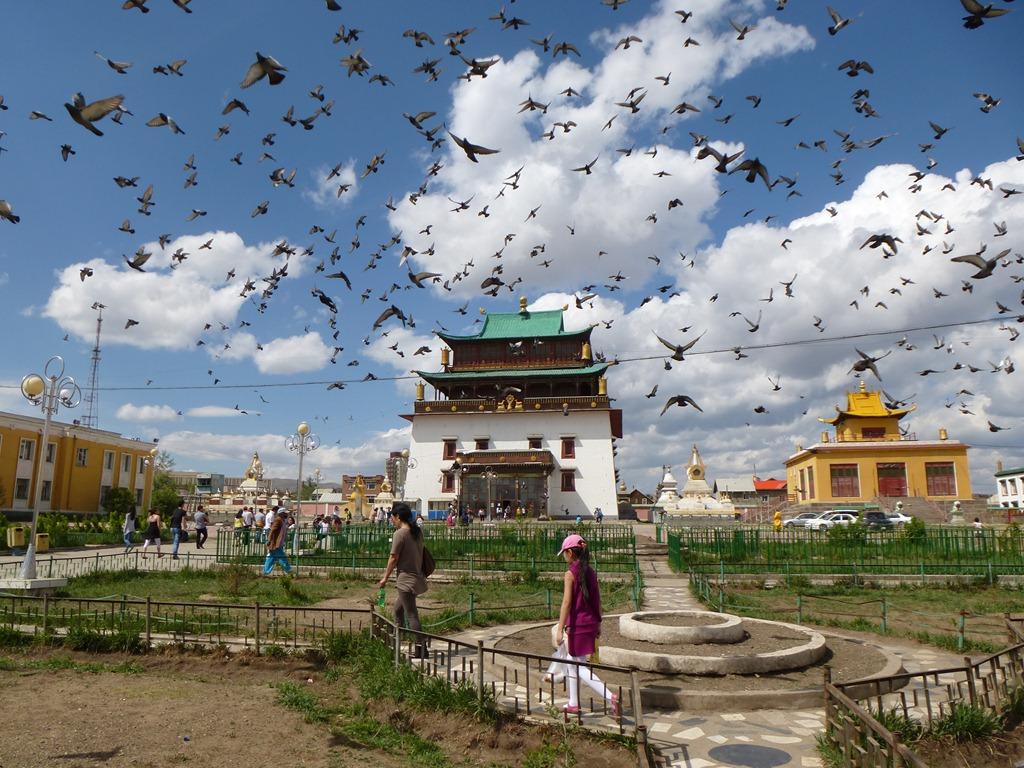 Bildergebnis für gandan kloster ulan bator