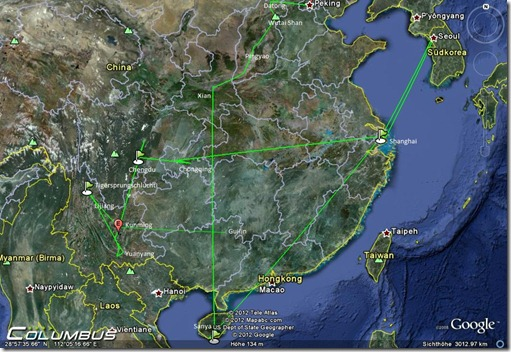 Peking bis Guilin